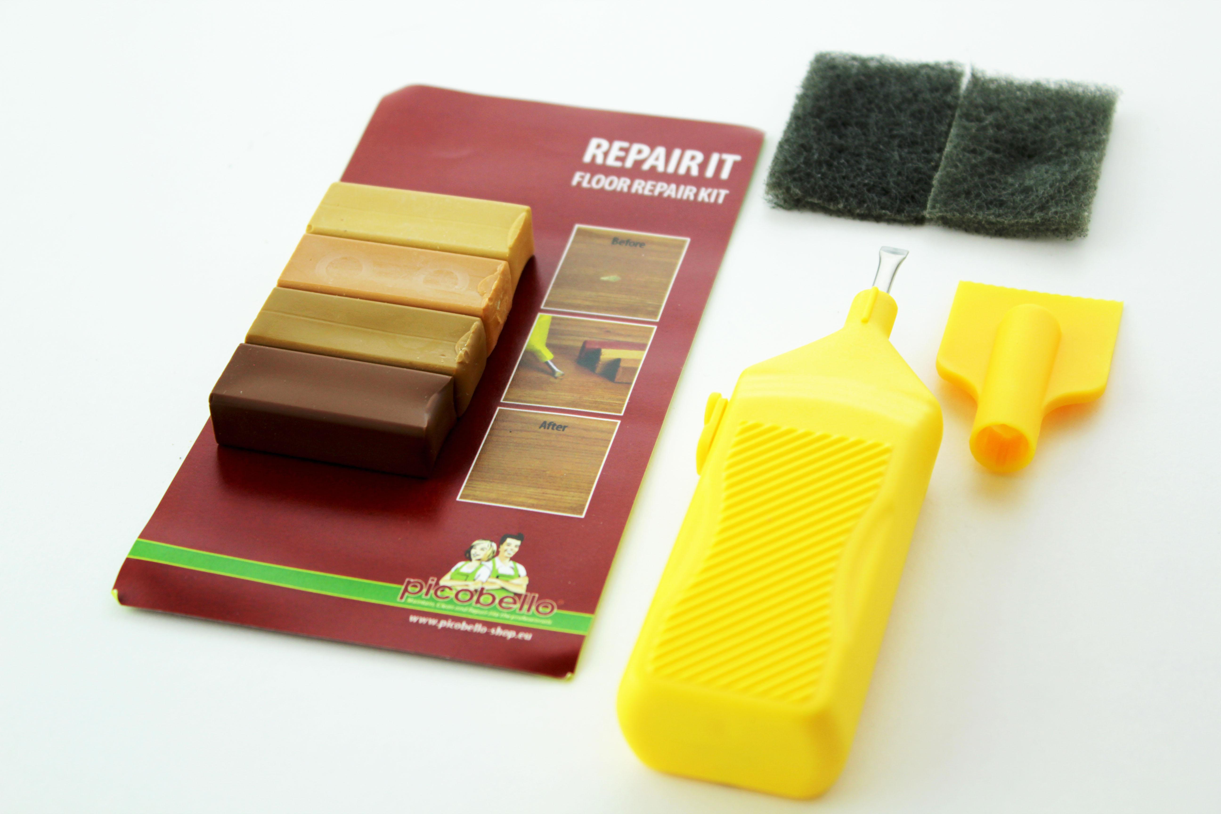 Repair It Set Wood Floor Scratch, Picobello Laminate Flooring Repair Kit