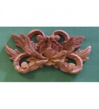 Floral Carving Furniture Applique - Mini - 006