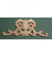 485 - Pierced Carved Pediment