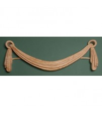 Architectural Linefold Wood Swag - 536