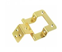 Double Cranked Flush Hinge 810