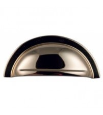 Solid Brass 3090 Cup Drawer Handle