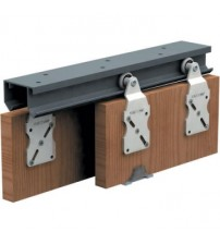 Horus Double Sliding Door Top Track Hardware