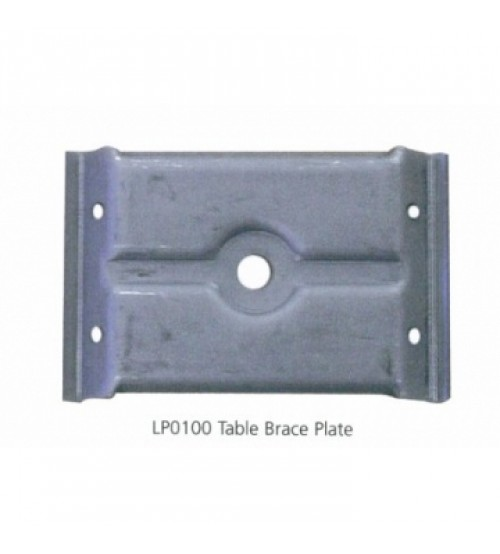 Table Leg Plate