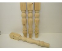 92mm - Farmhouse Table Leg - set of 4