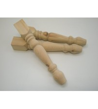 57mm - Stool Table Leg - set of 4