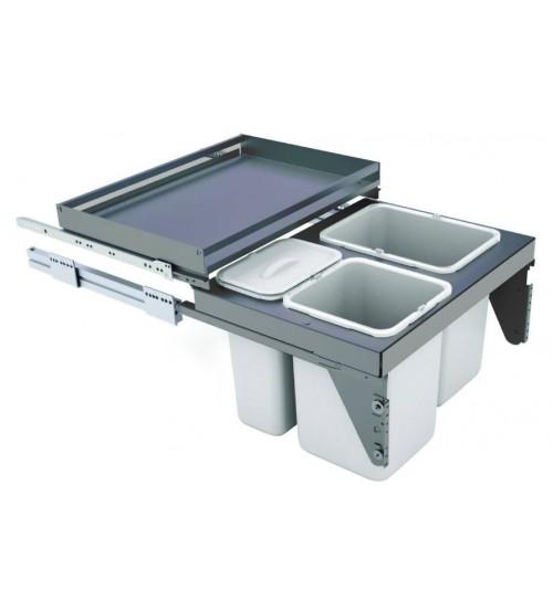 Under Sink Kitchen Pull Out Bin Sige Waste Bins