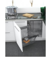 Classic Corner Pull Out Kitchen Cabinet Storage