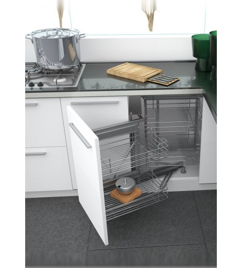 Kitchen Cabinet Accessories Pull Out: Corner Pull Out Kitchen Cabinet Storage