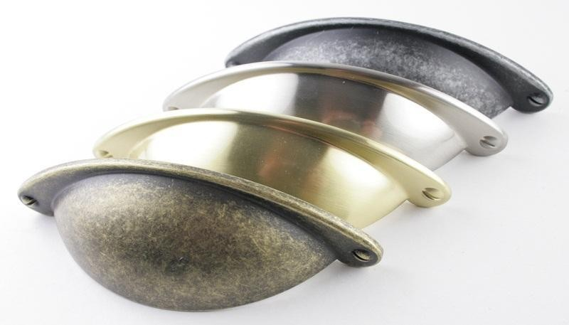 Cup Handles | Brass, Chrome & Nickel Handles at SCF Hardware